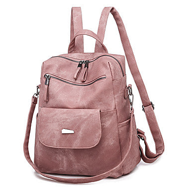 Zipper Commuter Backpack