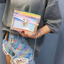 Load image into Gallery viewer, Women's Chain Holographic Purse