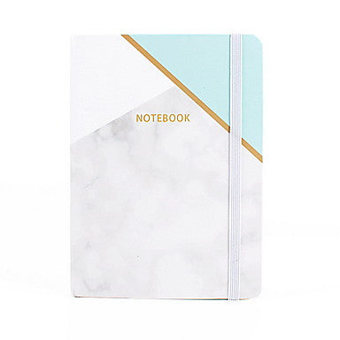 Novelty Paper Marbling Pattern Bandage Coil Book / Note Book Notepad For School Office Stationery A7