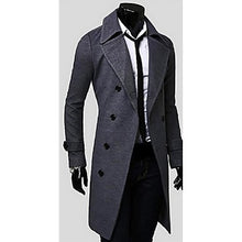 Load image into Gallery viewer, Polyester Winter Trench Coat
