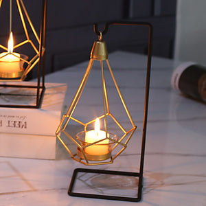 Modern Contemporary Iron Candle Holders