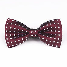 Load image into Gallery viewer, Men's Polka Dot Bowtie
