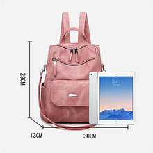 Load image into Gallery viewer, Zipper Commuter Backpack
