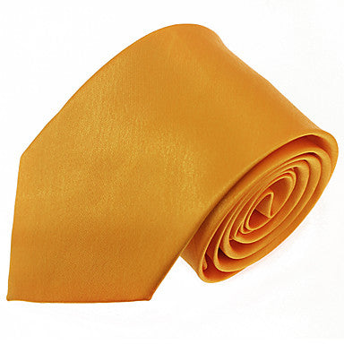 Men's Trend Yellow Necktie