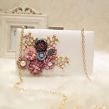 Women's Flower Evening Bag