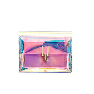Women's Chain Holographic Purse