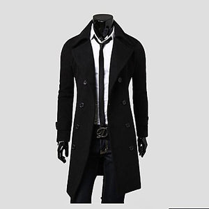 Polyester Winter Trench Coat