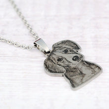 Load image into Gallery viewer, The Love Collar™ Personalized Pet Necklace - thelovecollar