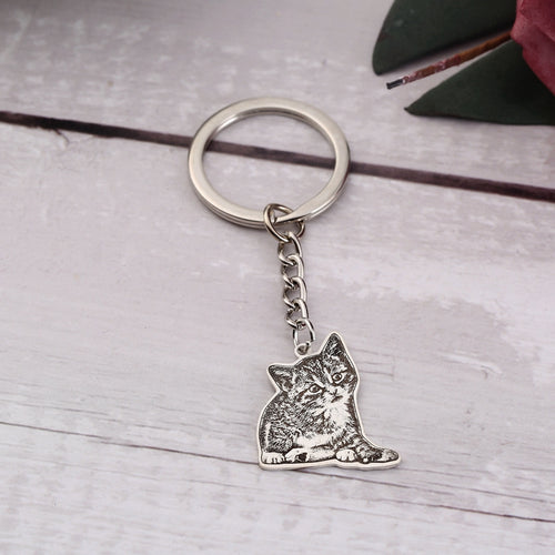 The Love Collar™ Personalized Pet Keychain - thelovecollar