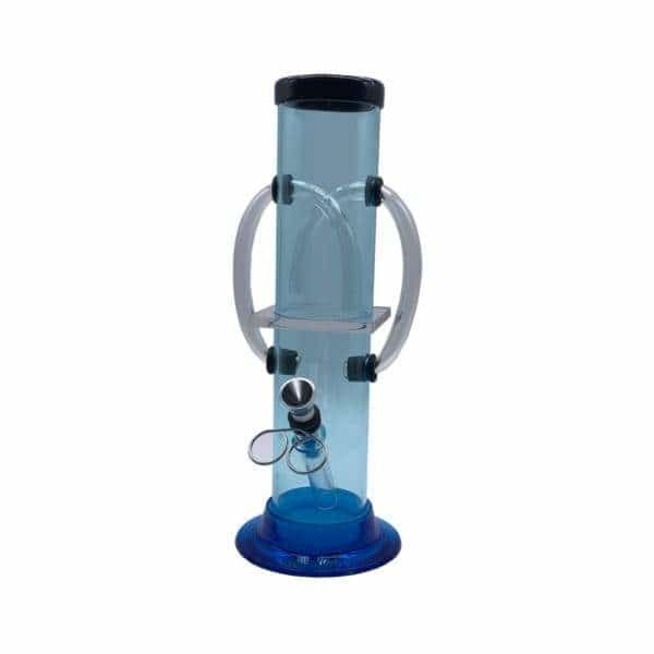 "9"" Acrylic Double Stack Pipe - BG Sales"