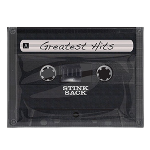 "1""x1"" Red Ziplock Bag 