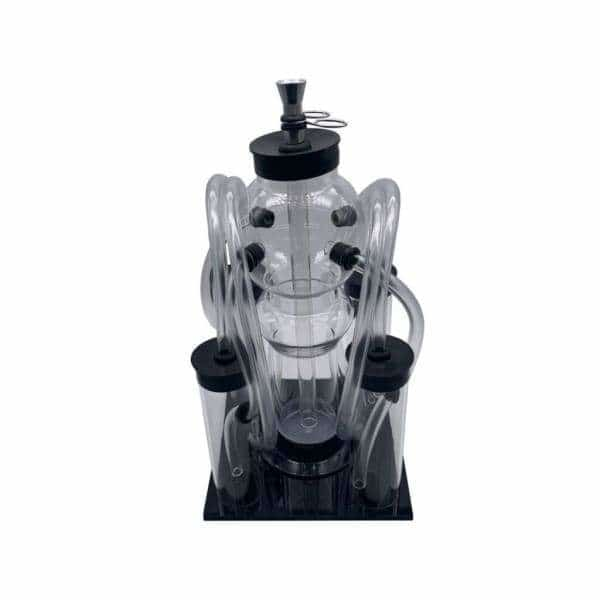 Acrylic 4 Hose / 5 Chamber Hookah Pipe - BG Sales