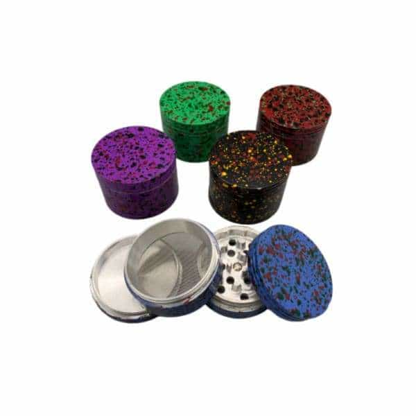 Aluminum Marble Grinder 4pc - 50mm - BG Sales (4375831511172)