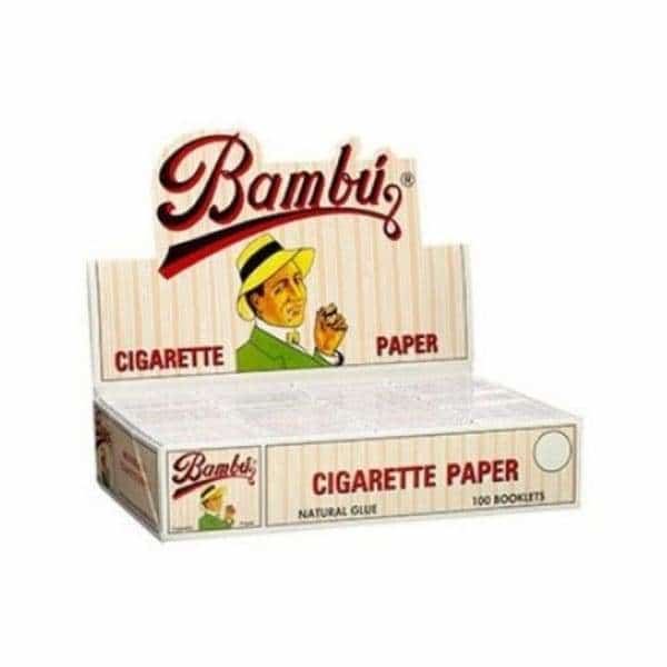 Bambu Regular 1 1/4 Rolling Papers - BG Sales (4037106991186)