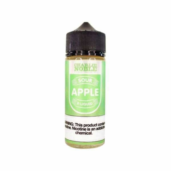 Charlie Noble Sour Apple - 120ml