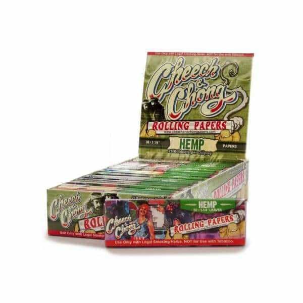 Cheech & Chong Hemp 1 1/4 Papers | bg-sales-1.