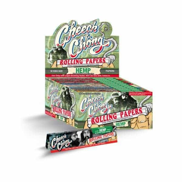 Cheech & Chong Hemp King Size Papers | bg-sales-1.