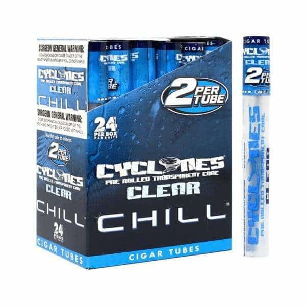 Cyclone Clear Blue Chill Cones - BG Sales