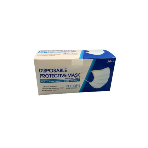 Disposable Surgical Protective Mask - 50ct | bg-sales-1.