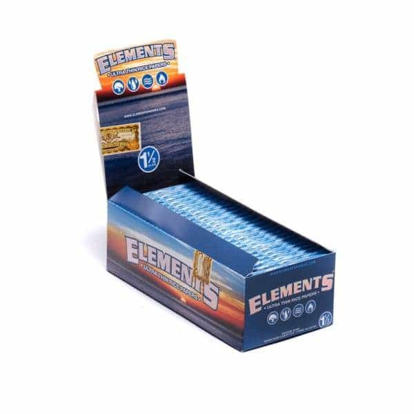 Elements 1 1/2 Rolling Papers - BG Sales
