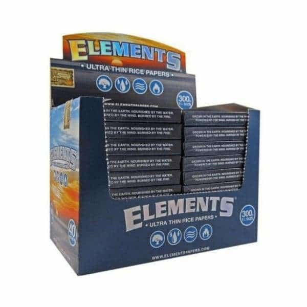 Elements 1 1/4 Papers 300 Block