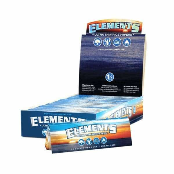 Elements 1 1/4 Rolling Papers - BG Sales (4029702176850)