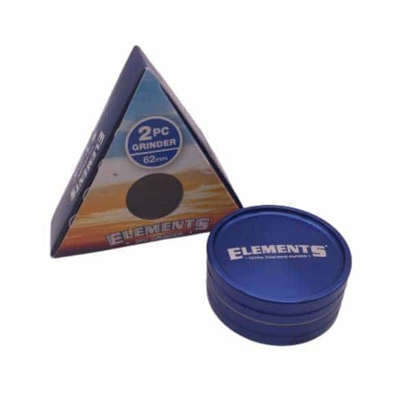 Elements 2 Piece 62mm Grinder