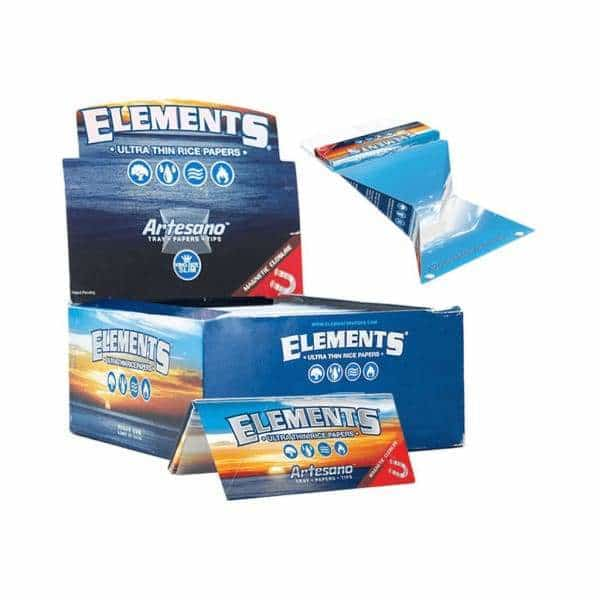 Elements Artesano King Size Slim Rolling Papers - BG Sales