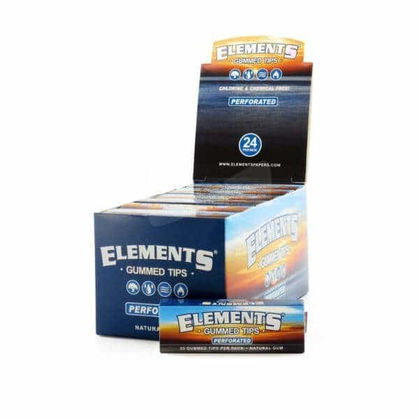 Elements Gummed Perforated Tips - BG Sales