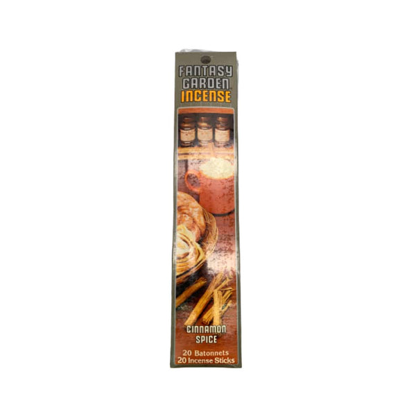 Fantasy Garden Incense - Cinnamon Spice