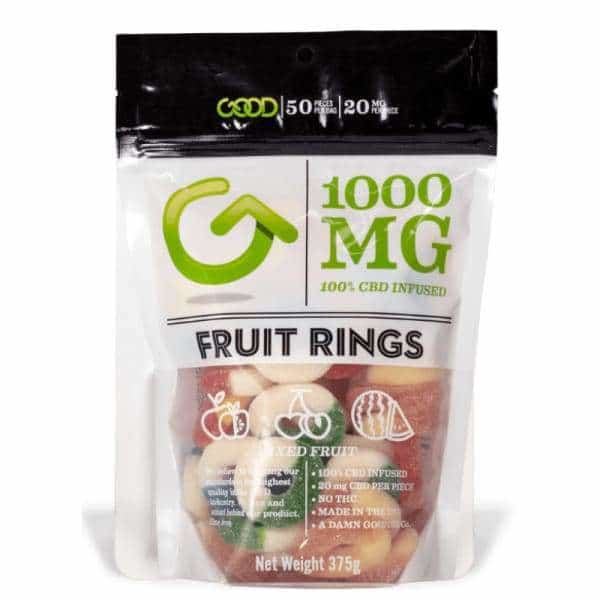 Fruit Rings 1000mg Mega Pack - BG Sales (3982987755602)