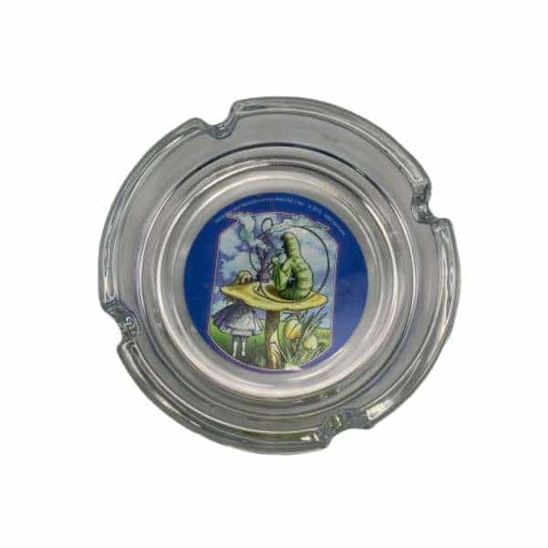 Glass Alice in Wonderland Ashtray - BG Sales (4448904511620)