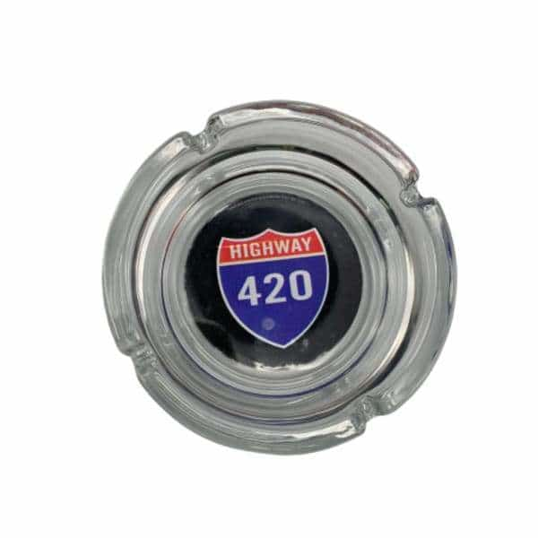 Glass Highway 420 Ashtray - BG Sales (4448871972996)
