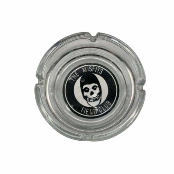 Glass Misfits Fiend Skull Ashtray - BG Sales (4448862339204)