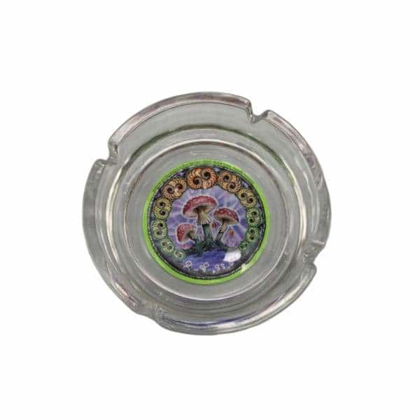 Glass Mushroom 2000 Ashtray - BG Sales (4448822722692)