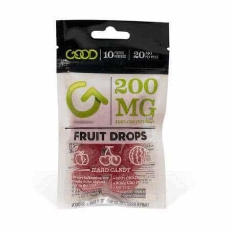 GOOD CBD Fruit Drops 200mg 10ct