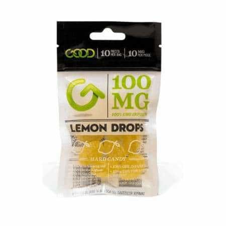 GOOD CBD Lemon Drops 100mg - BG Sales (3982988214354)