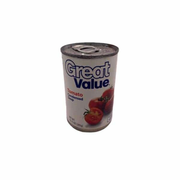Great Value Tomato Soup Stash Can