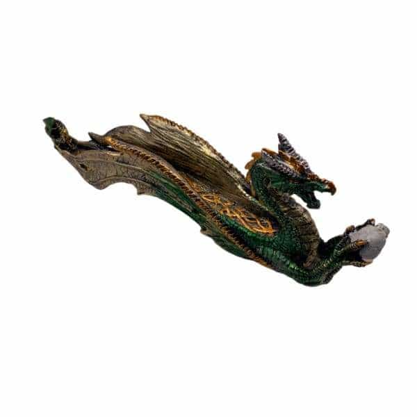 Green Dragon Incense Burner - BG Sales (4226971762770)