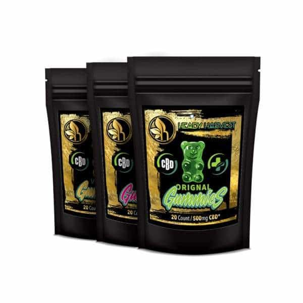 Heady Harvest CBD Gummies - BG Sales