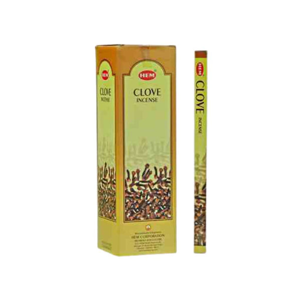 HEM Clove Incense Sticks - BG Sales