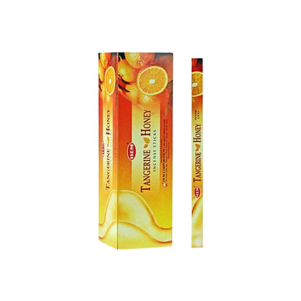 HEM Tangerine Honey Incense Sticks - BG Sales