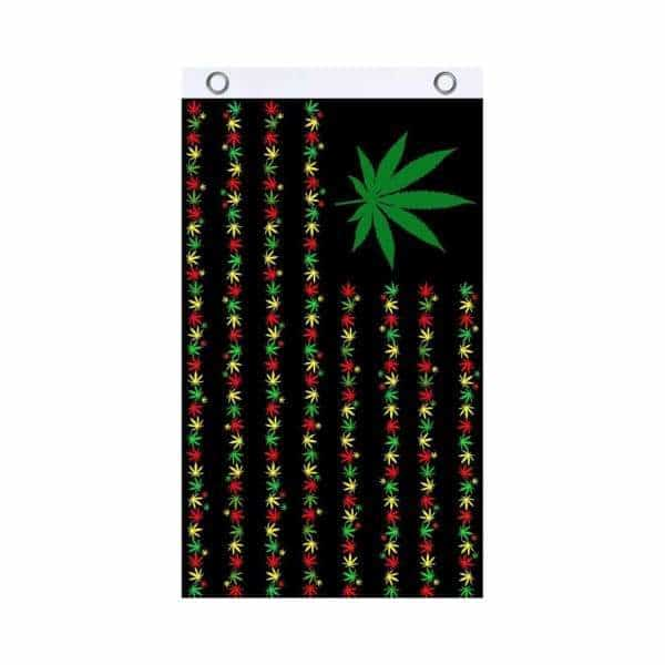 Herbal Rasta Fly Flag - BG Sales (4540819964036)