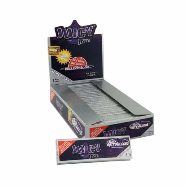 Juicy Jay's Black Berrylicious Rolling Papers | bg-sales-1.