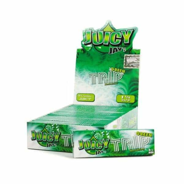 Juicy Jay's Green Trip Rolling Papers