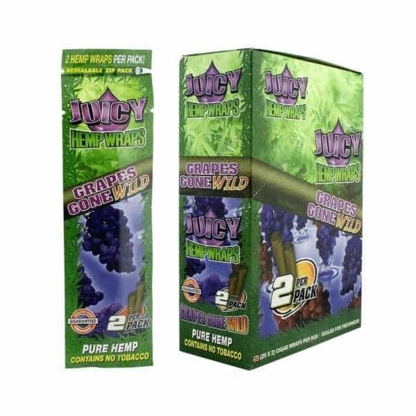 Juicy Jay's Hemp Grape Wraps - BG Sales