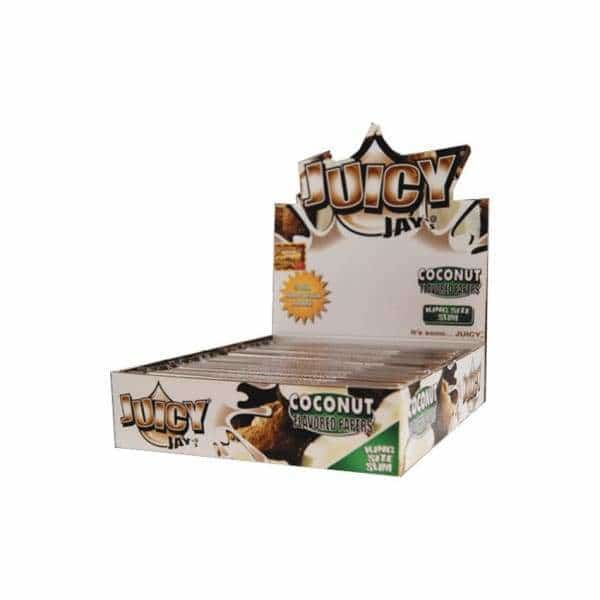 Juicy Jay's King Sized Slim Coconut Papers | bg-sales-1.
