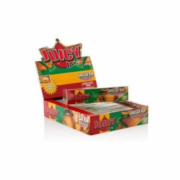 Juicy Jay's King Sized Slim Jamaican Rum Papers | bg-sales-1.