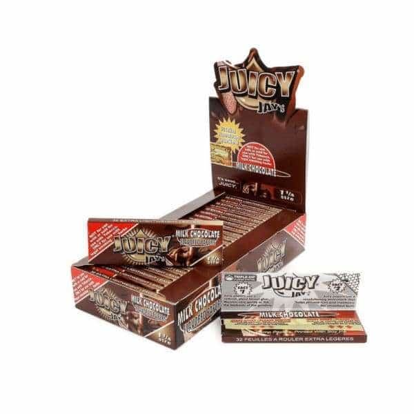 Juicy Jay's Milk Chocolate Rolling Papers - BG Sales (4026429603922)