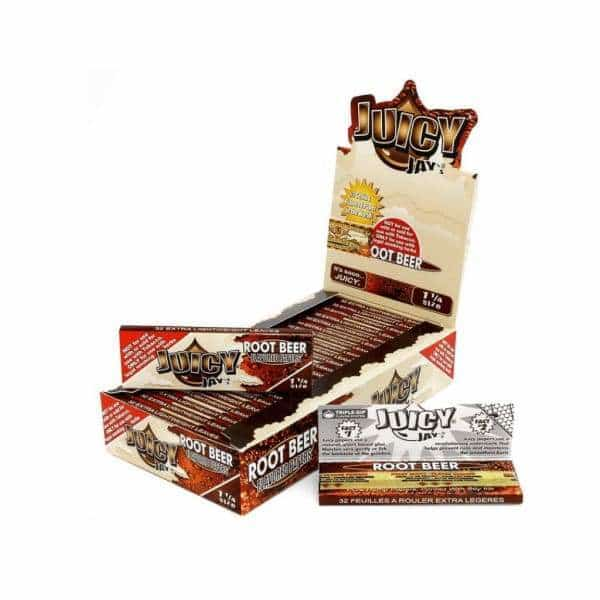 Juicy Jay's Root Beer Rolling Papers - BG Sales (4026452803666)